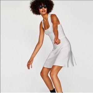 Zara criss-cross back dress